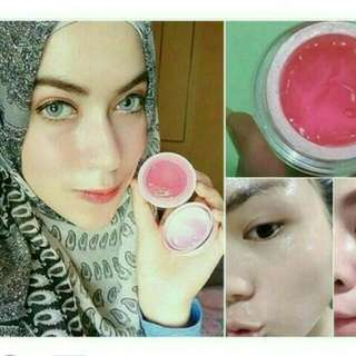 Krim jelly arbutin / jelly pink pencerah wajah / vitamin muka glowing