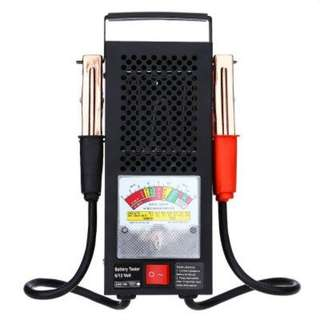 T16594 AUTOMOTIVE VEHICULAR ELECTROMOBILE 6V 12V BATTERY LOAD TESTER EQUIPMENT VOLTAGE TOOL