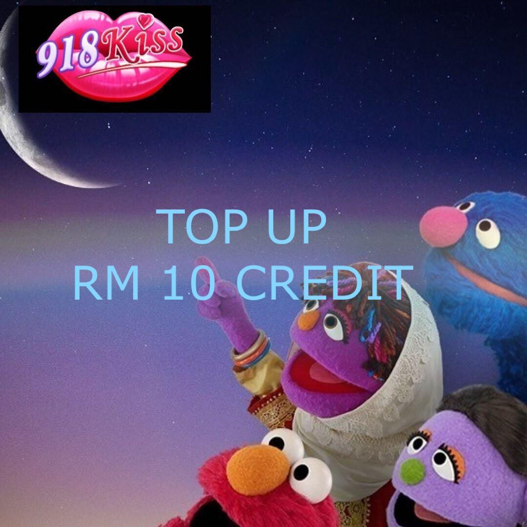 918 Kiss Credit Rm10