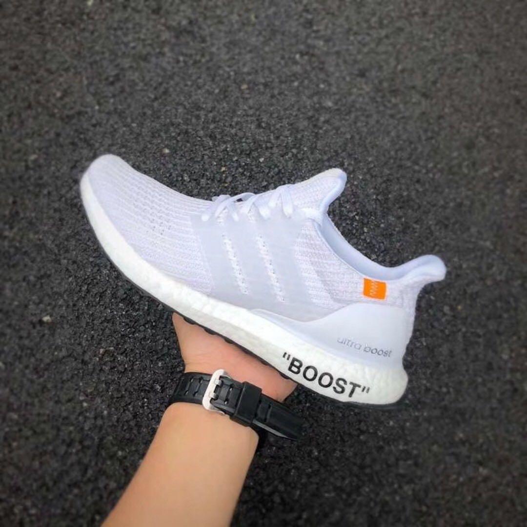 Adidas UltraBoost X OffWhite, Men's