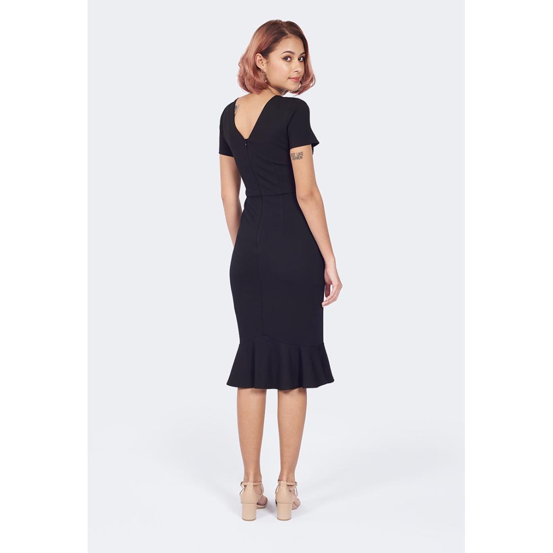 Arden Dress in Black