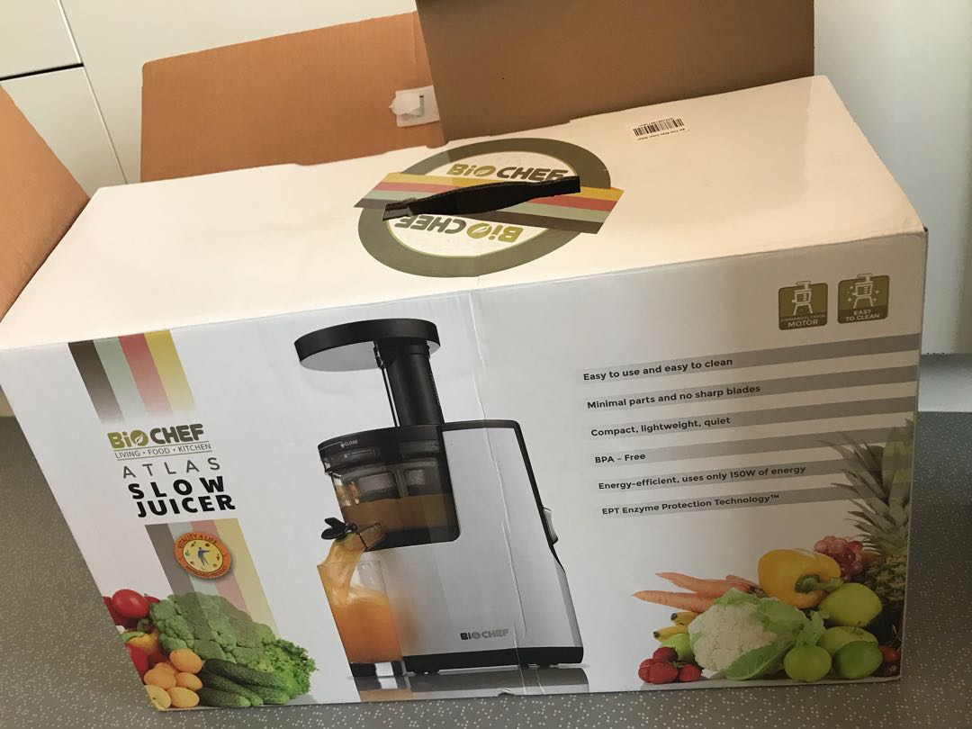 Biochef atlas slow juicer cold pressed kitchen appliances on share this listing forumfinder Images