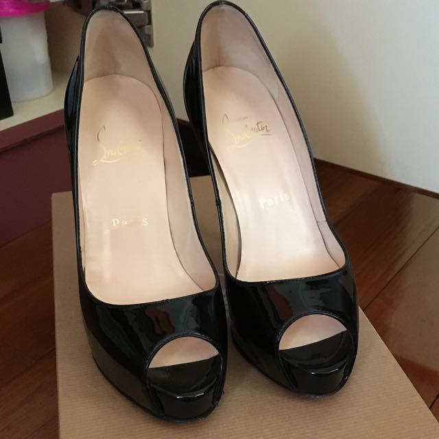 newest 29c73 082d1 Christian Louboutin Very Prive 120 Black