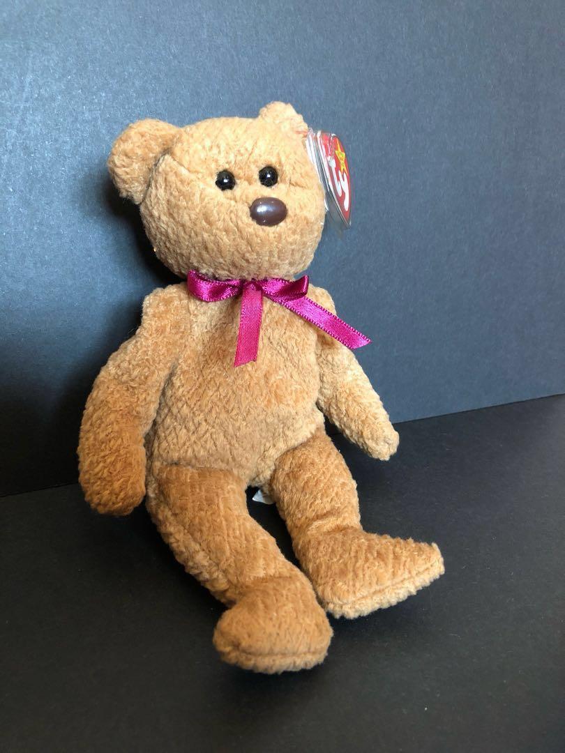 3353aa8b0df Curly Bear TY beanie