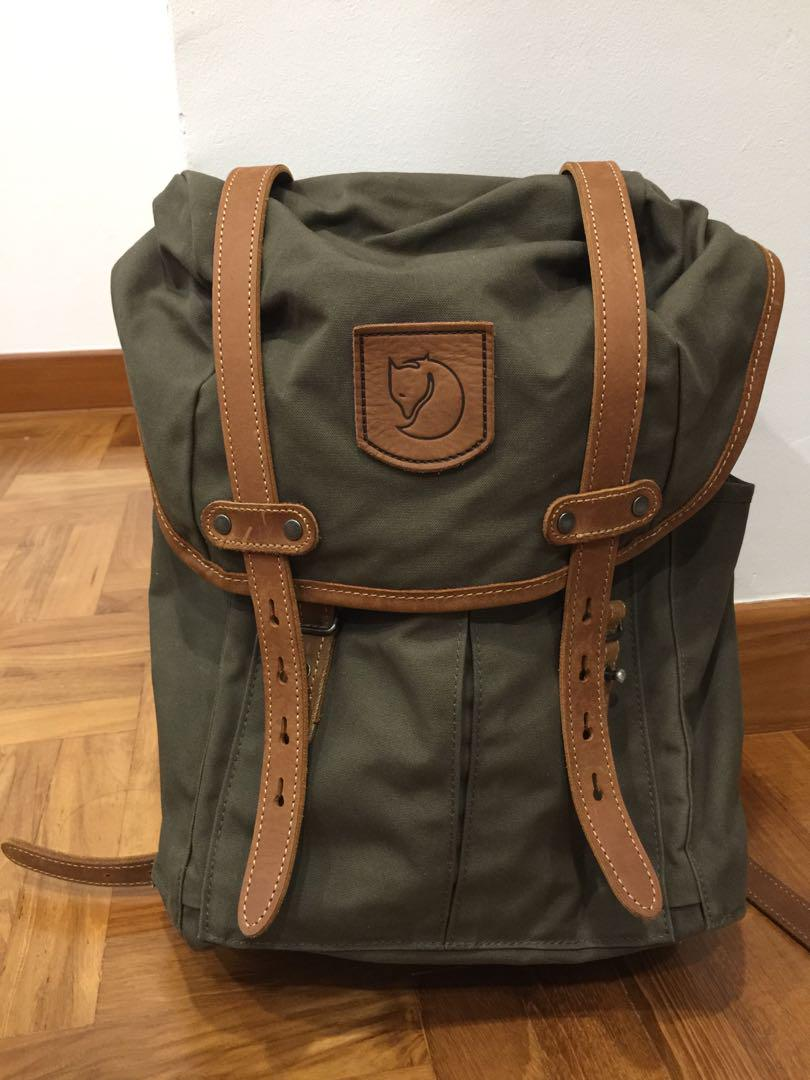 Fjallraven Rucksack no 21 Small, Men's Fashion, Bags