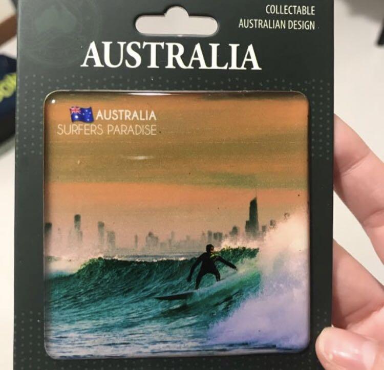 Australia Fridge Magnet Gold Coast SURFERS PARADISE