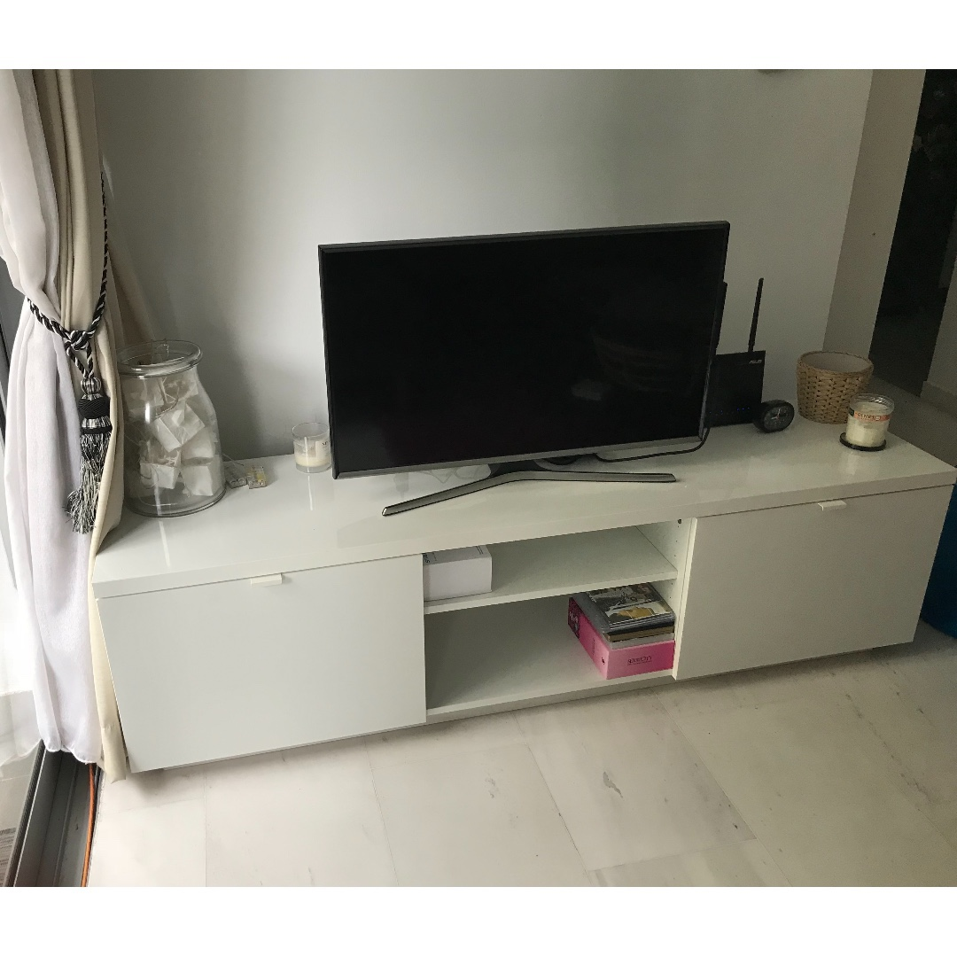 Outstanding Ikea Byas Tv Cabinet Bench Nearly New Condition Gmtry Best Dining Table And Chair Ideas Images Gmtryco
