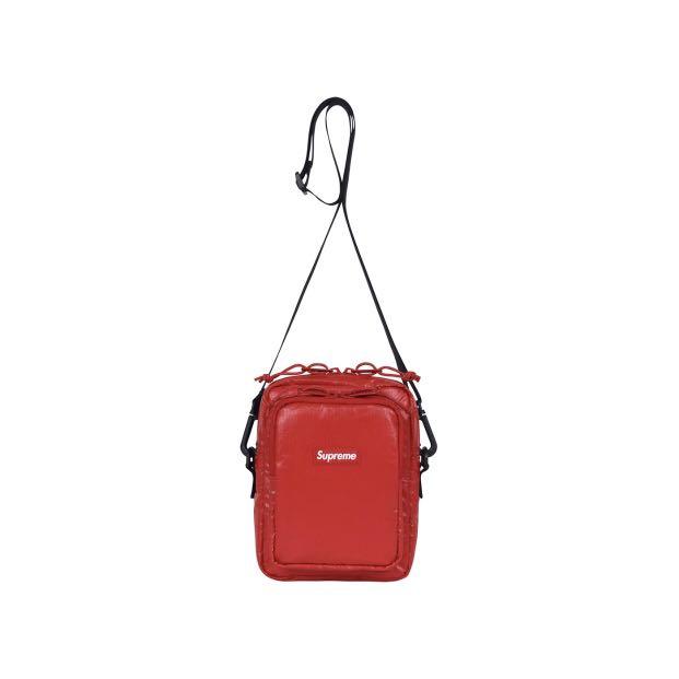 INSTOCK  Supreme FW17 Shoulder Bag Red e8191dbaa8fe6