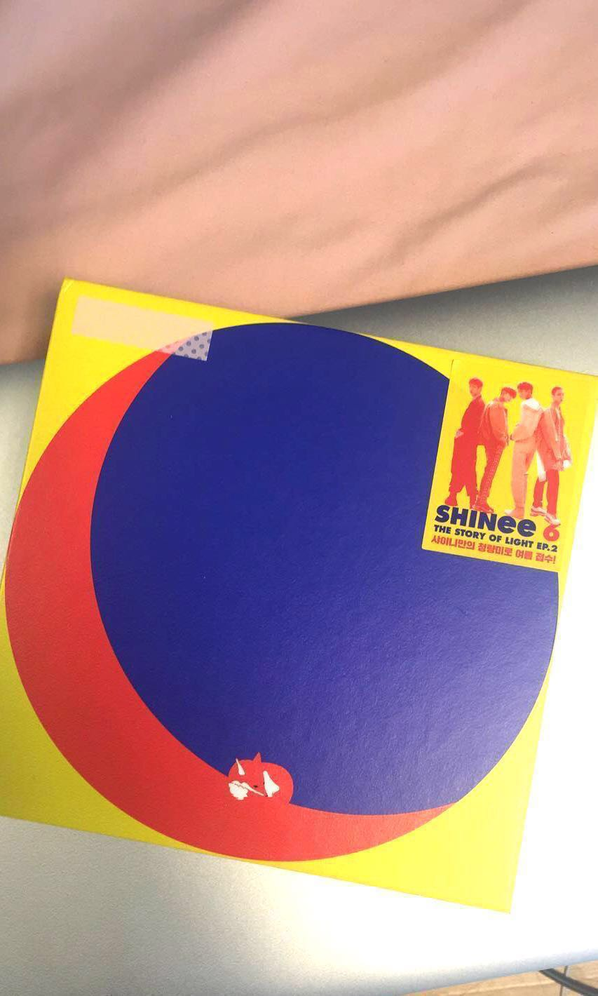 INSTOCKS SHINee Ep2: The Story of Light Album Photocard and Poster