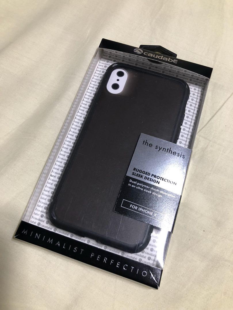 hot sales 623c8 0a60a IPhone X Caudabe Synthesis Case
