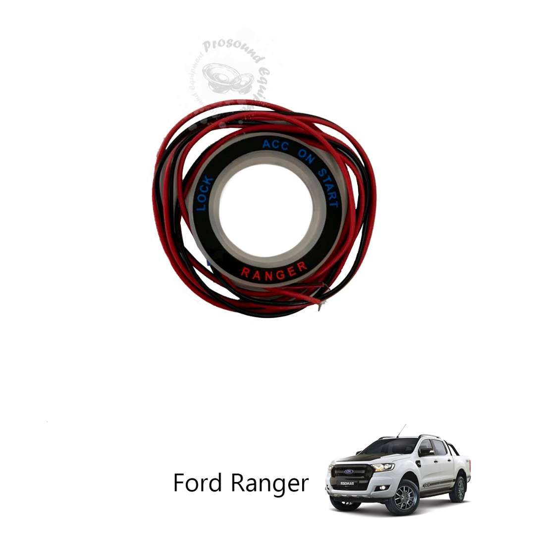 Led Luminous Car Ignition Switch On Key Hole Ring For Ford Ranger Mercedes Benz Auto Accessories Carousell
