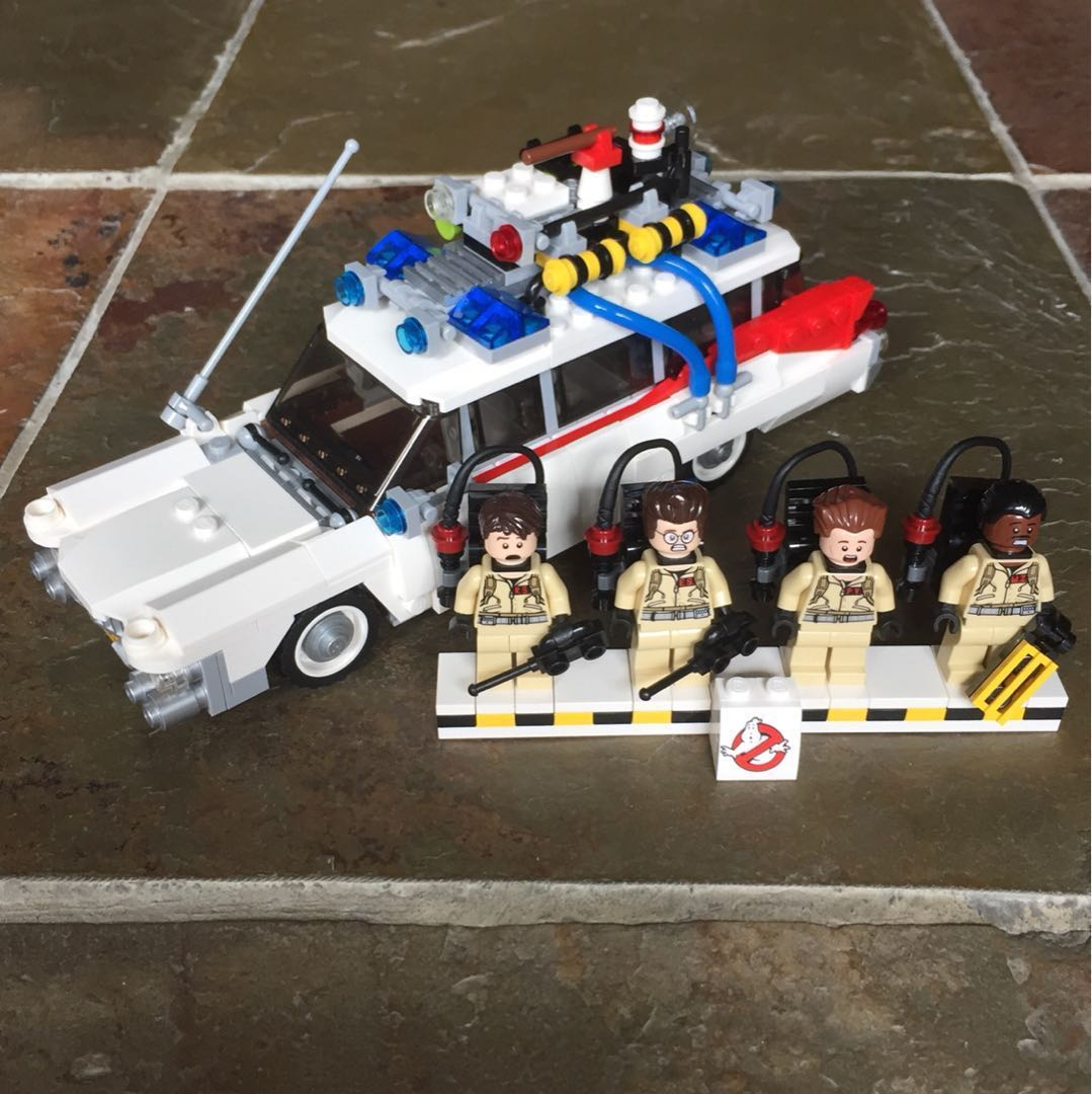 Lego Ghostbusters Ecto 1 21108 Toys Games Bricks Figurines On 75828 Ampamp 2 Photo