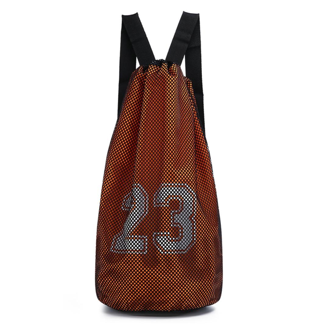 46242c97ce Men s Basketball Drawstring Bag Outdoor Fitness Waterproof Sports ...