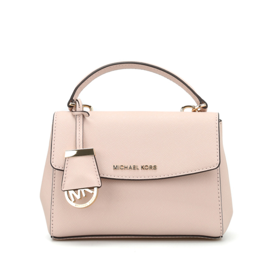 35fef1f2c1d729 Michael Kors Ava Extra Small Crossbody Bag Soft Pink, Luxury, Bags ...