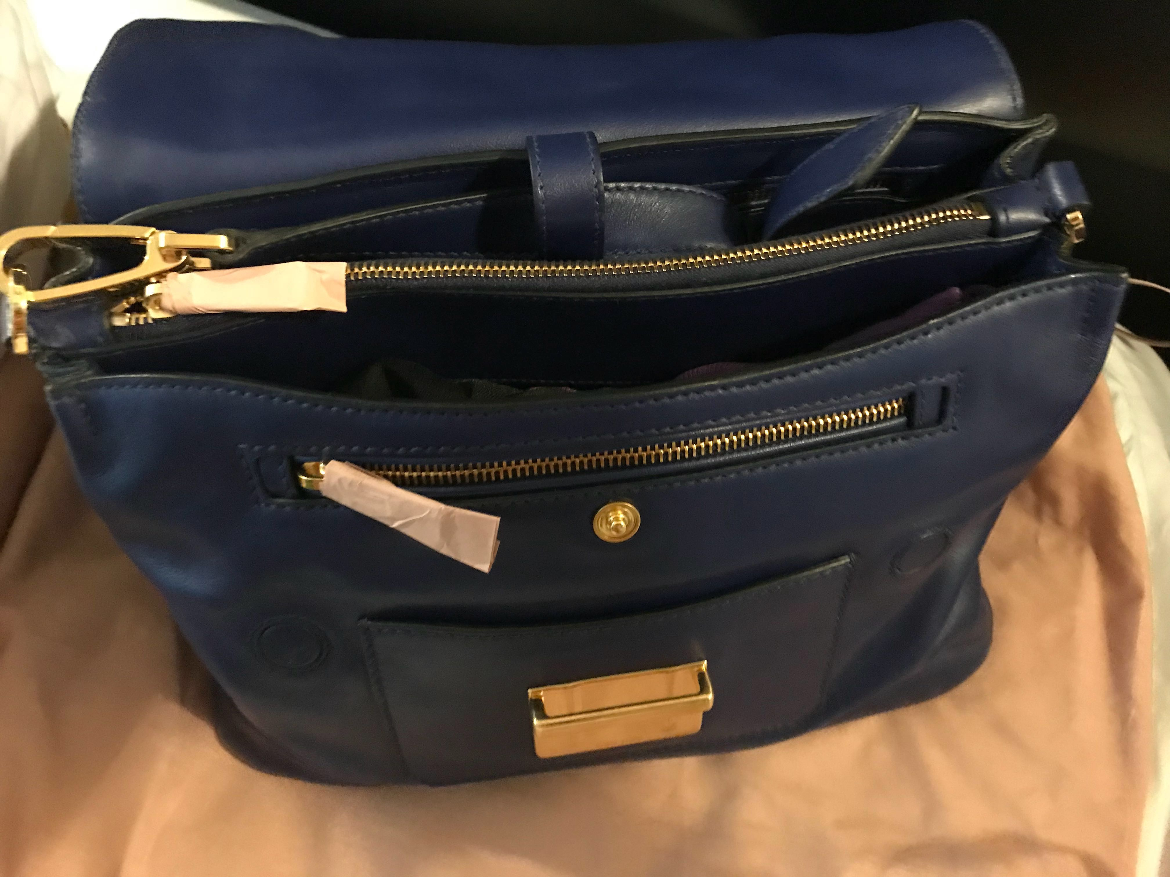 21e2097d0 Miu Miu Vitello soft leather satchel handbag, Women's Fashion, Bags ...