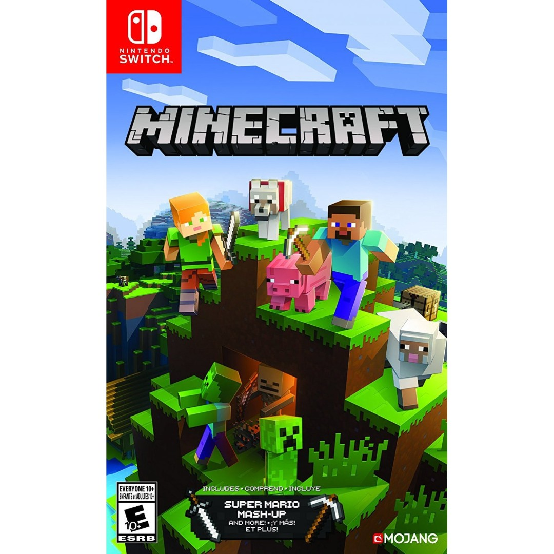 New Not Used Switch Minecraft Switch Edition Nintendo