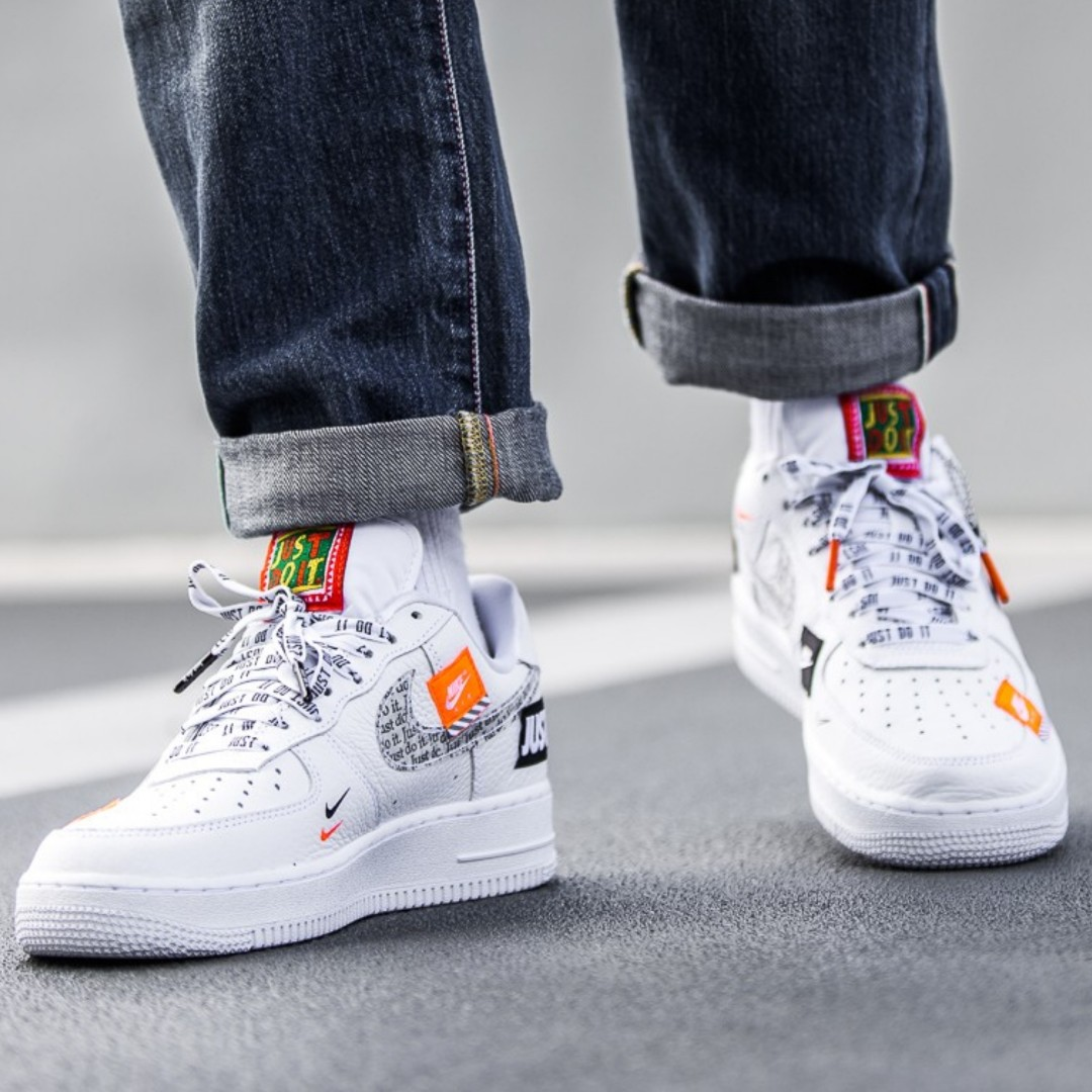 98d3400242cf Nike Air Force 1 Just Do It Pack