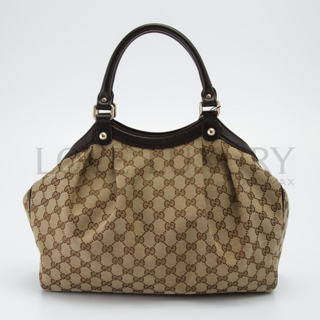 6b4e0d44b Preowned Gucci, Sukey Medium Tote - 211944 (POB0005198), Luxury ...
