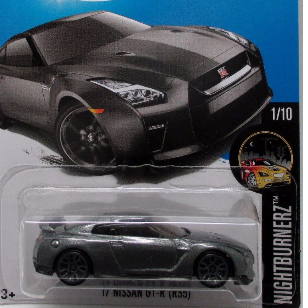 Pwp 17 Nissan Gt R R35 Graphite From The 2017 Night Burnerz Silver No 23 Tomica Reguler Takara Tomy Photo