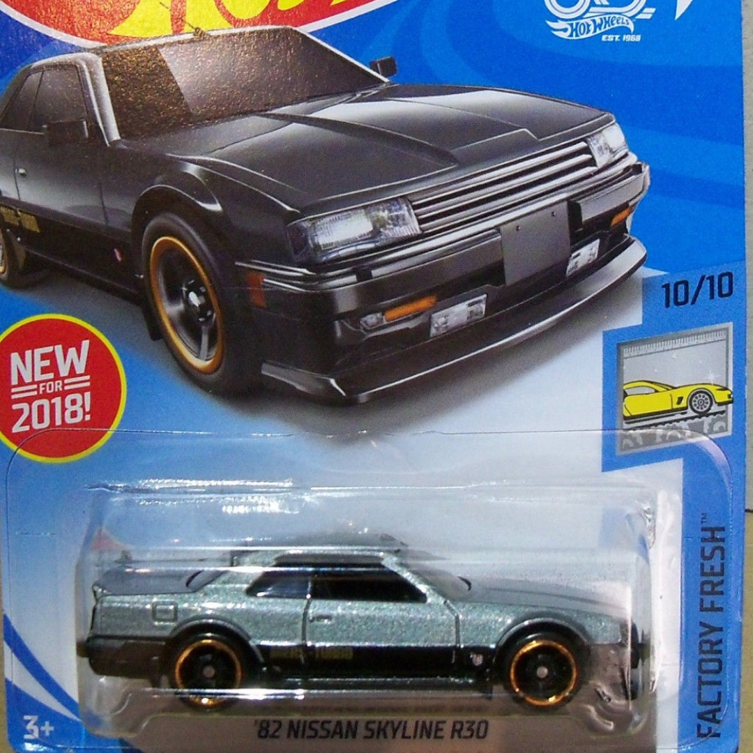Pwp 82 Nissan Skyline R30 From The 2018 Factory Fresh Series Hotwheels Silver Photo
