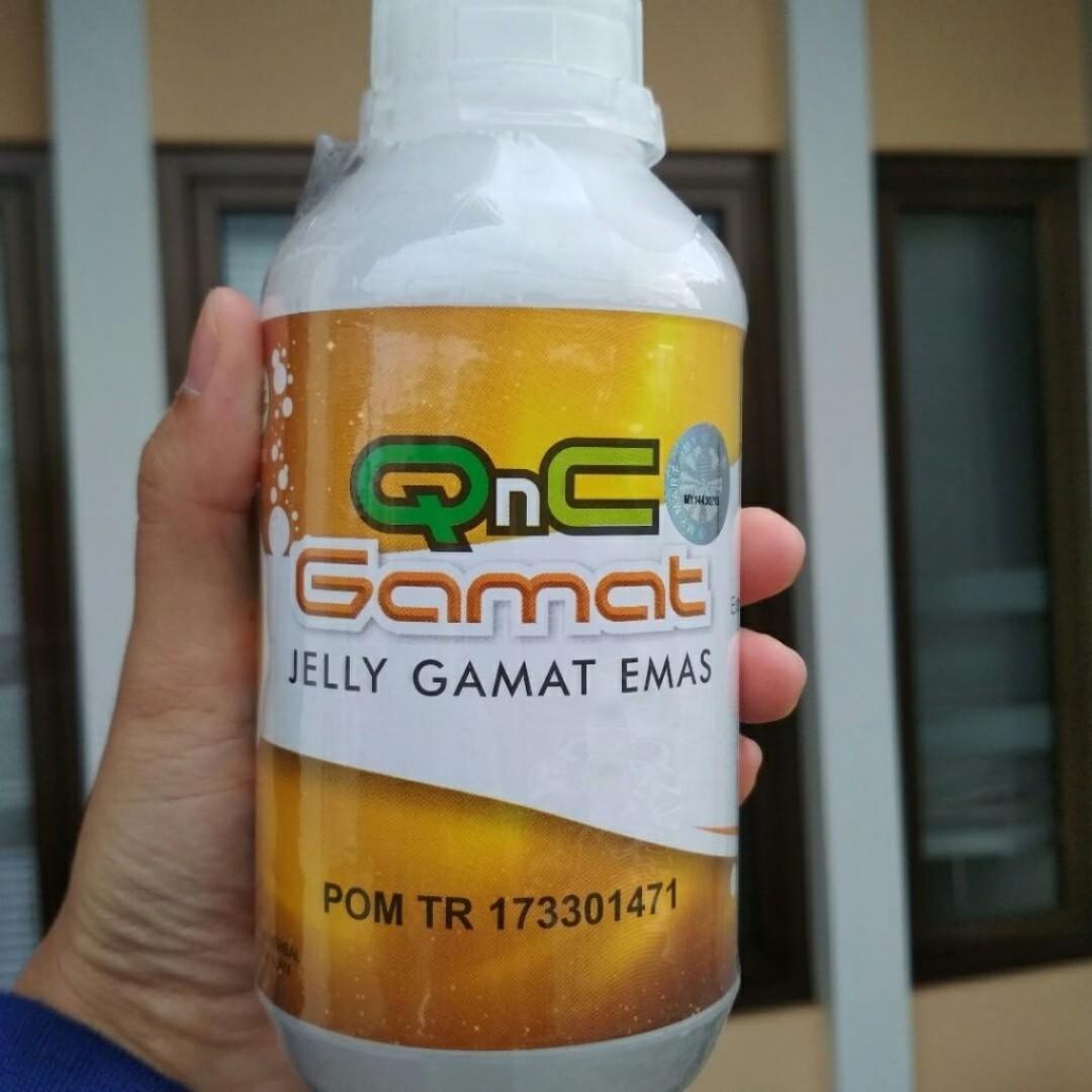 QNC Jelly Gamat ORIGINAL / sli Dari Teripang Emas, Health & Beauty, Perfumes, Nail Care, & Others on Carousell