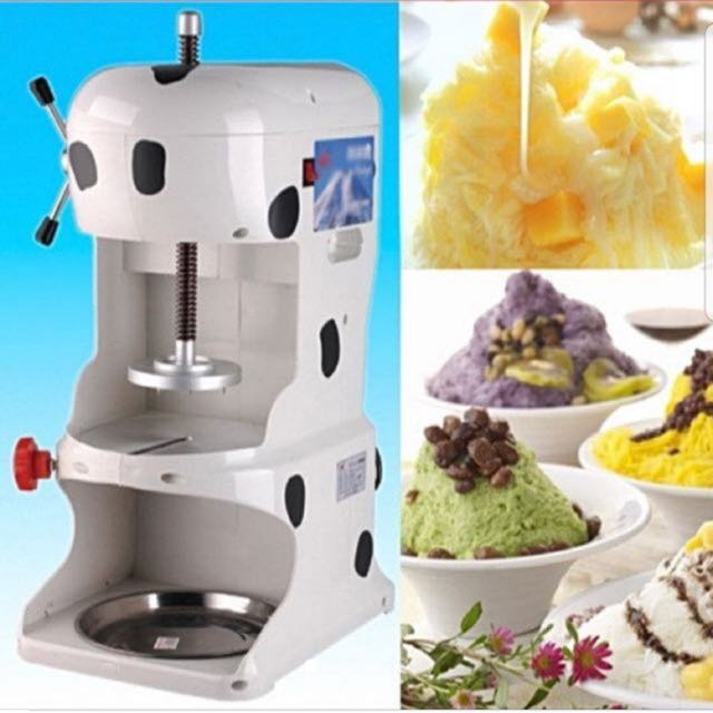 Were home made shaved ice machine fantasy