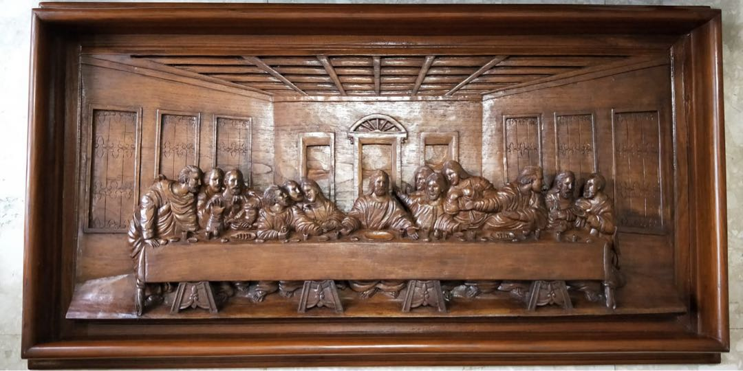 Last supper wood carving yelp