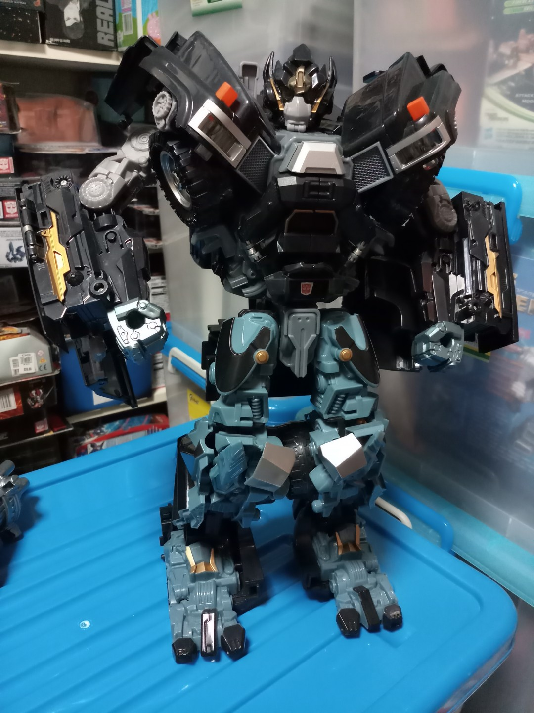 Transformers For Sale >> Sale Transformers Ironhide Movie Huge 3rd Party Toys
