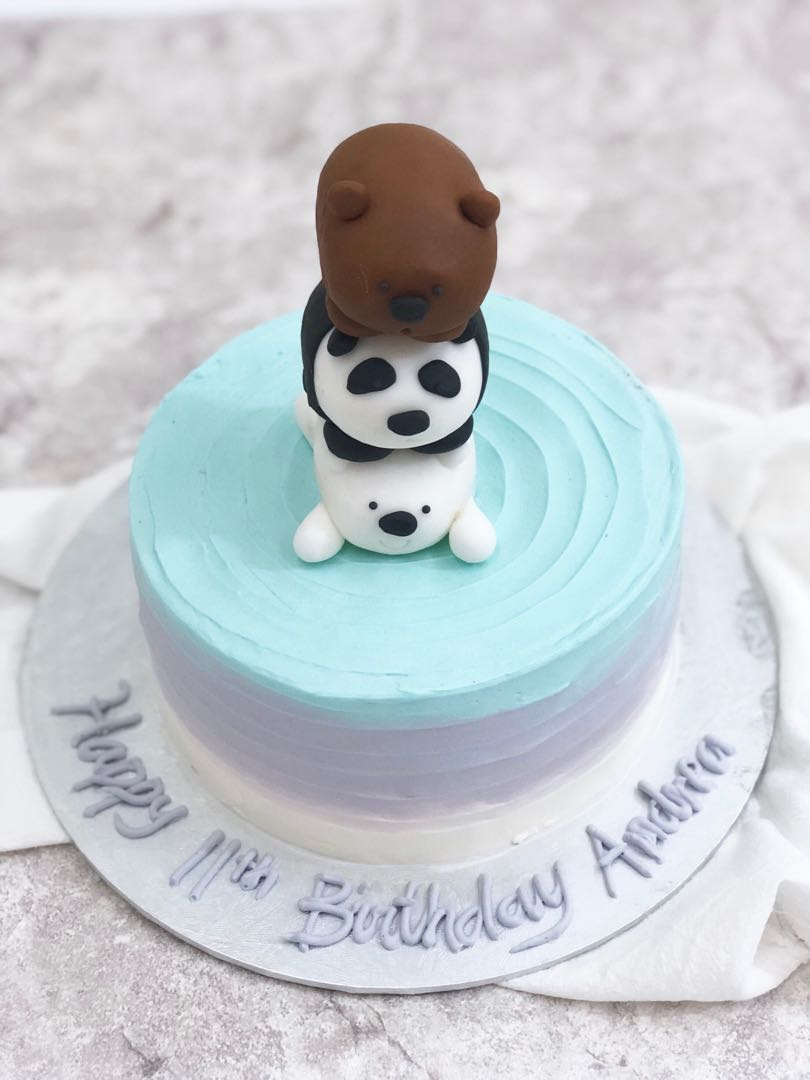 We Bare Bears Cake/ Cupcake, Food & Drinks, Baked Goods on ...