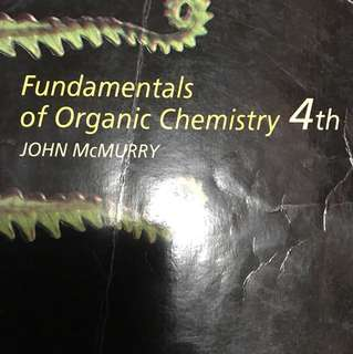 Organic Chemistry Book Mcmurry