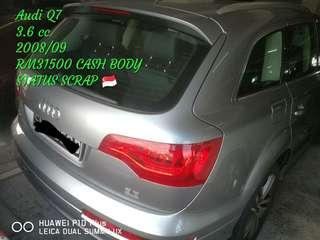 Audi Q7 3.6 cc