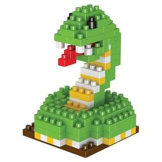 🚚 [IN-STOCK] Snake: Animal Series Building Blocks