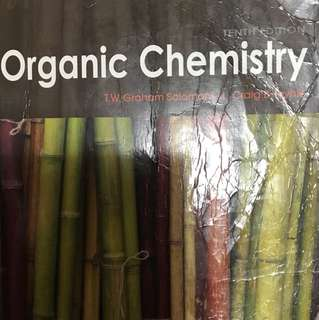 Organic Chemistry book by Solomons