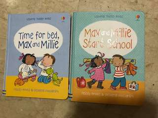 🚚 Max and Millie start school; Time for Bed, Max and Millie