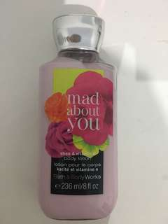 Bath & Body Works body lotion Mad About You