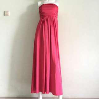 Dress Kemben Pink