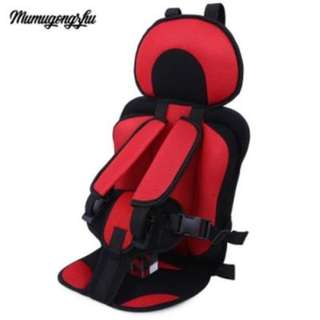 MUMUGONGZHU KIDS SAFETY THICKENING COTTON ADJUSTABLE CHILDREN CAR SEAT
