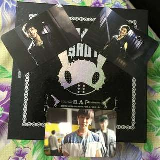 Unsealed B.A.P ONE SHOT Album With Photocard