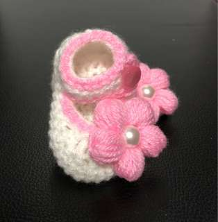 Crochet Baby Ankle Cut Shoes