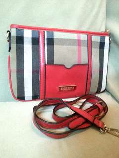 Burberry Large Wristlet with Strape