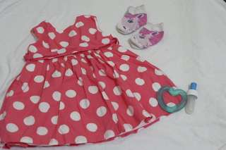 Chicco polka dots dress