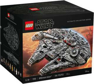 Lego 75192 UCS Millenium Falcon (credit card accepted)