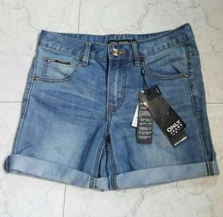 ONLY denim shorts from Denmark