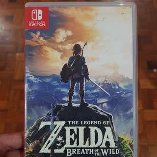 Zelda BOTW nintendo Switch
