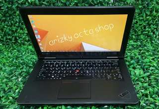 Lenovo thinkpad yoga intel core i5 multitouch pen dan jari bisa jadi tablet ram 4gb hdd 250gb hdmi keyboard backlight