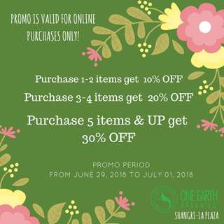 Online SALE through Facebook & Instagram Purchases