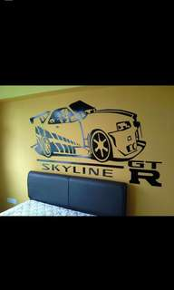 Wall decal services