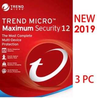 Trend Micro Antivirus Titanium Maxmium Security 12 Antivirus