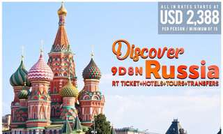 RUSSIA Package Tour