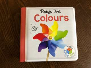 Baby's first Colors book